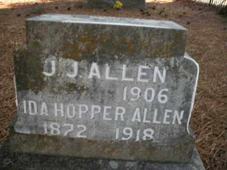 HOPPER ALLEN, IDA - Boone County, Arkansas | IDA HOPPER ALLEN - Arkansas Gravestone Photos