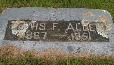 ALLEN, LEWIS FRANKLIN - Boone County, Arkansas | LEWIS FRANKLIN ALLEN - Arkansas Gravestone Photos