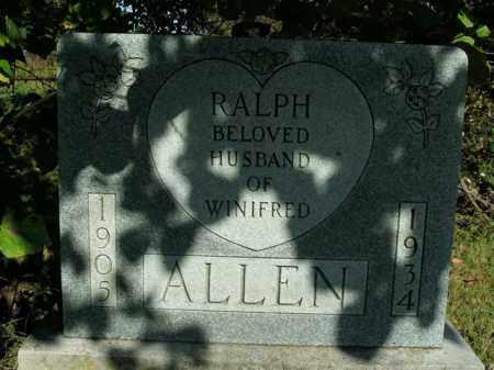 ALLEN, RALPH - Boone County, Arkansas   RALPH ALLEN - Arkansas Gravestone Photos