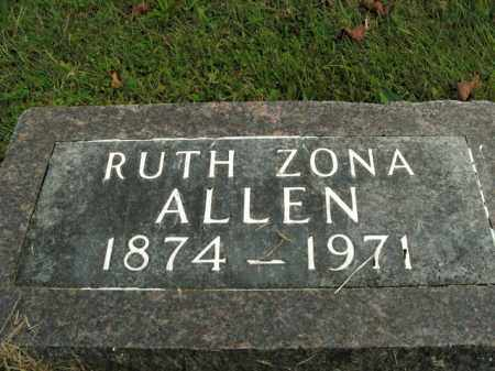 ALLEN, RUTH ARIZONA - Boone County, Arkansas | RUTH ARIZONA ALLEN - Arkansas Gravestone Photos