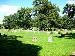 *ALPENA CEMETERY OVERVIEW,  - Boone County, Arkansas |  *ALPENA CEMETERY OVERVIEW - Arkansas Gravestone Photos