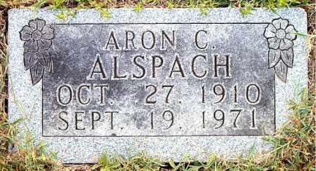 ALSPACH, ARON  C. - Boone County, Arkansas | ARON  C. ALSPACH - Arkansas Gravestone Photos