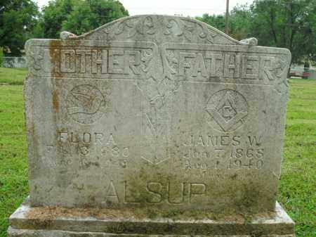 ALSUP, JAMES W. - Boone County, Arkansas | JAMES W. ALSUP - Arkansas Gravestone Photos
