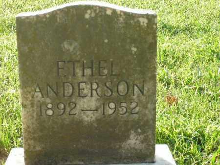 ANDERSON, ETHEL - Boone County, Arkansas | ETHEL ANDERSON - Arkansas Gravestone Photos