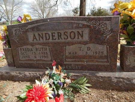 ANDERSON, FREDA RUTH - Boone County, Arkansas | FREDA RUTH ANDERSON - Arkansas Gravestone Photos