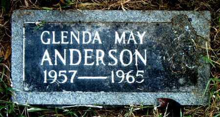 ANDERSON, GLENDA    MAY - Boone County, Arkansas | GLENDA    MAY ANDERSON - Arkansas Gravestone Photos