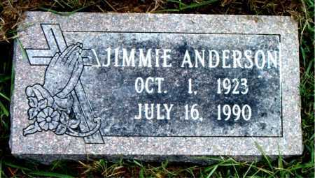ANDERSON, JIMMIE - Boone County, Arkansas | JIMMIE ANDERSON - Arkansas Gravestone Photos
