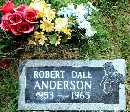 ANDERSON, ROBERT   DALE - Boone County, Arkansas   ROBERT   DALE ANDERSON - Arkansas Gravestone Photos