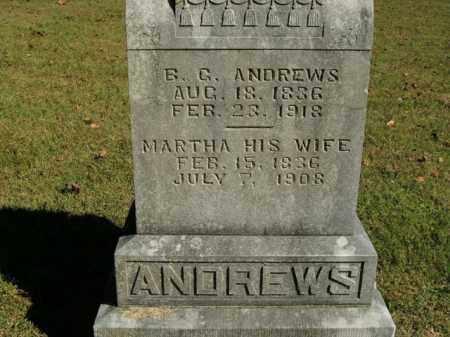 ANDREWS, B.G. - Boone County, Arkansas | B.G. ANDREWS - Arkansas Gravestone Photos