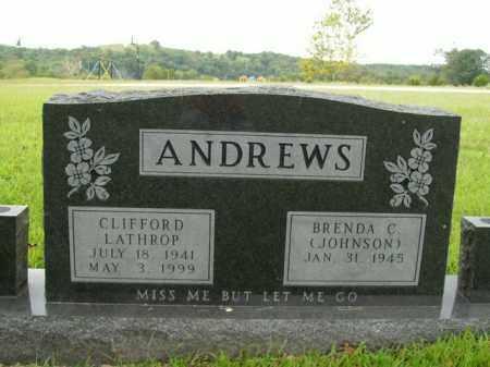 ANDREWS, CLIFFORD LATHROP - Boone County, Arkansas | CLIFFORD LATHROP ANDREWS - Arkansas Gravestone Photos
