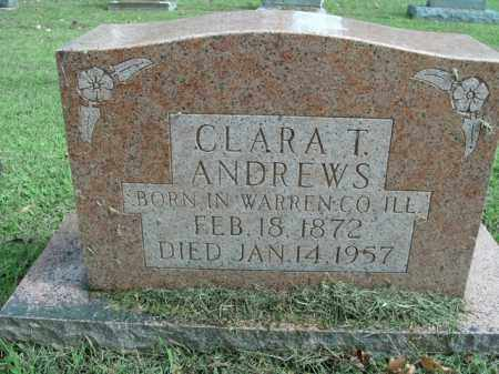ANDREWS, CLARA T. - Boone County, Arkansas | CLARA T. ANDREWS - Arkansas Gravestone Photos