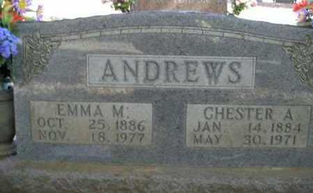 ANDREWS, EMMA M. - Boone County, Arkansas | EMMA M. ANDREWS - Arkansas Gravestone Photos