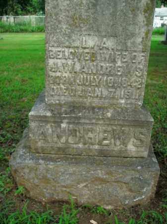 ANDREWS, L.A. - Boone County, Arkansas | L.A. ANDREWS - Arkansas Gravestone Photos