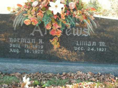 ANDREWS, NORMAN H. - Boone County, Arkansas | NORMAN H. ANDREWS - Arkansas Gravestone Photos
