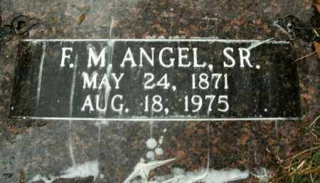 ANGEL, SR, FRANCIS MARION - Boone County, Arkansas | FRANCIS MARION ANGEL, SR - Arkansas Gravestone Photos