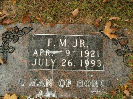 ANGEL, JR, F.M. - Boone County, Arkansas | F.M. ANGEL, JR - Arkansas Gravestone Photos