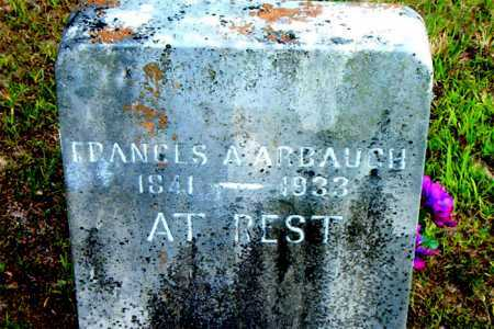 ARBAUCH, FRANCES A. - Boone County, Arkansas | FRANCES A. ARBAUCH - Arkansas Gravestone Photos