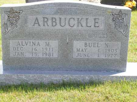 ARBUCKLE, BUEL N. - Boone County, Arkansas | BUEL N. ARBUCKLE - Arkansas Gravestone Photos
