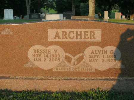 ARCHER, BESSIE V. - Boone County, Arkansas | BESSIE V. ARCHER - Arkansas Gravestone Photos