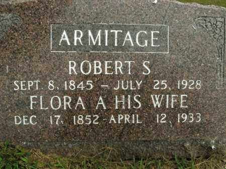 ARMITAGE, ROBERT S. - Boone County, Arkansas | ROBERT S. ARMITAGE - Arkansas Gravestone Photos