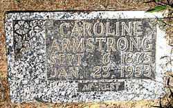 ARMSTRONG, CAROLINE - Boone County, Arkansas | CAROLINE ARMSTRONG - Arkansas Gravestone Photos