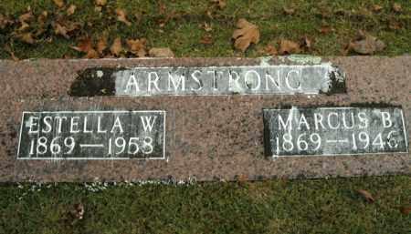 ARMSTRONG, ESTELLA W. - Boone County, Arkansas   ESTELLA W. ARMSTRONG - Arkansas Gravestone Photos