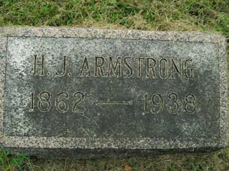 ARMSTRONG, H.J. - Boone County, Arkansas | H.J. ARMSTRONG - Arkansas Gravestone Photos