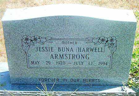 HARWELL ARMSTRONG, JESSIE BUNA - Boone County, Arkansas | JESSIE BUNA HARWELL ARMSTRONG - Arkansas Gravestone Photos