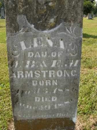 ARMSTRONG, LENA - Boone County, Arkansas   LENA ARMSTRONG - Arkansas Gravestone Photos