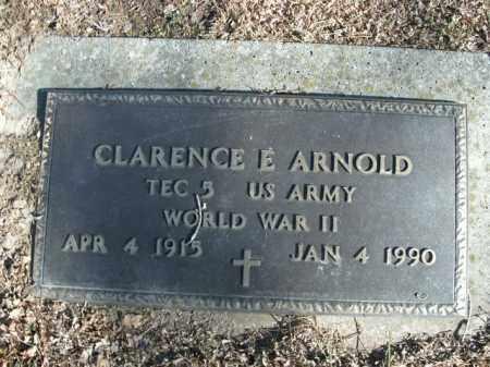 ARNOLD  (VETERAN WWII), CLARENCE E - Boone County, Arkansas | CLARENCE E ARNOLD  (VETERAN WWII) - Arkansas Gravestone Photos