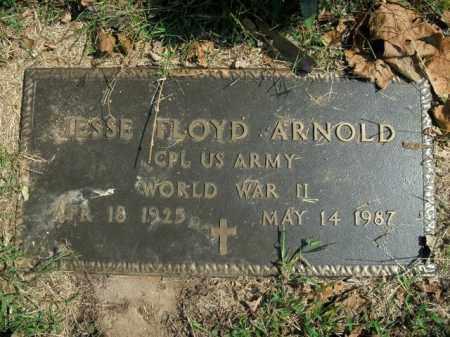 ARNOLD  (VETERAN WWII), JESSE FLOYD - Boone County, Arkansas | JESSE FLOYD ARNOLD  (VETERAN WWII) - Arkansas Gravestone Photos