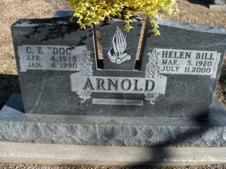 ARNOLD, HELEN BILL - Boone County, Arkansas | HELEN BILL ARNOLD - Arkansas Gravestone Photos