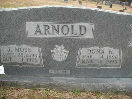 ARNOLD, DONA H. - Boone County, Arkansas   DONA H. ARNOLD - Arkansas Gravestone Photos