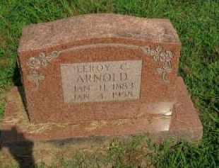 ARNOLD, LEROY C. - Boone County, Arkansas   LEROY C. ARNOLD - Arkansas Gravestone Photos