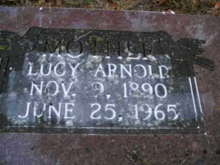 ARNOLD, LUCY - Boone County, Arkansas   LUCY ARNOLD - Arkansas Gravestone Photos
