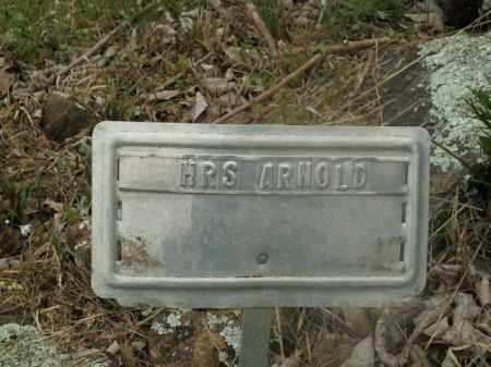 ARNOLD, MRS. - Boone County, Arkansas   MRS. ARNOLD - Arkansas Gravestone Photos