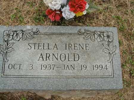ARNOLD, STELLA IRENE - Boone County, Arkansas | STELLA IRENE ARNOLD - Arkansas Gravestone Photos