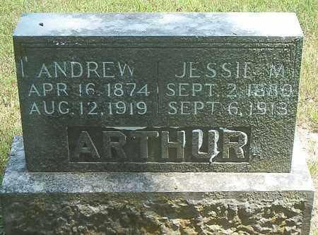 ARTHUR, ANDREW - Boone County, Arkansas | ANDREW ARTHUR - Arkansas Gravestone Photos
