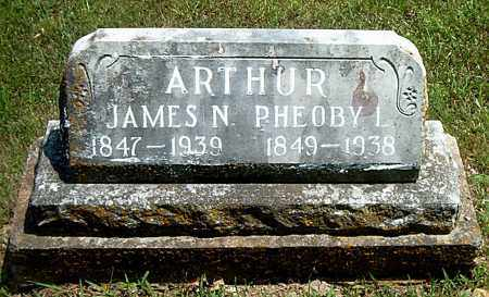ARTHUR, PHEOBY  L. - Boone County, Arkansas   PHEOBY  L. ARTHUR - Arkansas Gravestone Photos