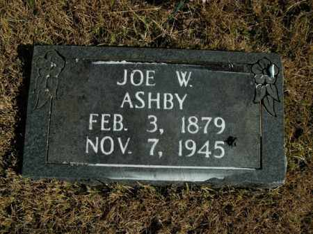 ASHBY, JOE W. - Boone County, Arkansas   JOE W. ASHBY - Arkansas Gravestone Photos