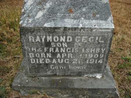 ASHBY, RAYMOND CECIL - Boone County, Arkansas | RAYMOND CECIL ASHBY - Arkansas Gravestone Photos