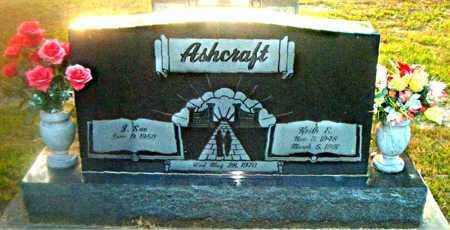 ASHCRAFT, KEITH R. - Boone County, Arkansas | KEITH R. ASHCRAFT - Arkansas Gravestone Photos