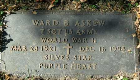 ASKEW  (VETERAN WWII), WARD B - Boone County, Arkansas | WARD B ASKEW  (VETERAN WWII) - Arkansas Gravestone Photos