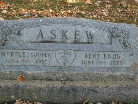 ASKEW, MYRTLE - Boone County, Arkansas | MYRTLE ASKEW - Arkansas Gravestone Photos