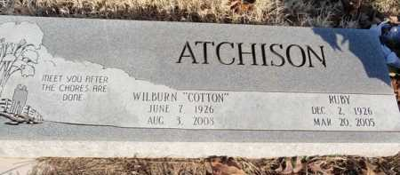 ATCHISON, RUBY - Boone County, Arkansas   RUBY ATCHISON - Arkansas Gravestone Photos