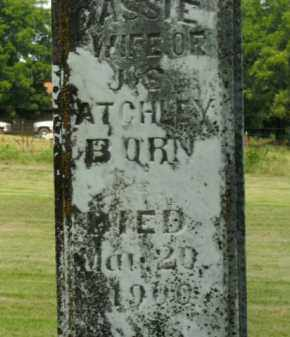 ATCHLEY, CASSIE - Boone County, Arkansas | CASSIE ATCHLEY - Arkansas Gravestone Photos