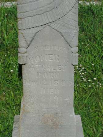 ATCHLEY, HOMER C. - Boone County, Arkansas | HOMER C. ATCHLEY - Arkansas Gravestone Photos