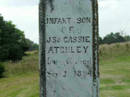 ATCHLEY, INFANT SON - Boone County, Arkansas   INFANT SON ATCHLEY - Arkansas Gravestone Photos