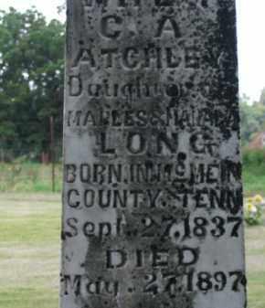ATCHLEY, RHODA A. - Boone County, Arkansas | RHODA A. ATCHLEY - Arkansas Gravestone Photos
