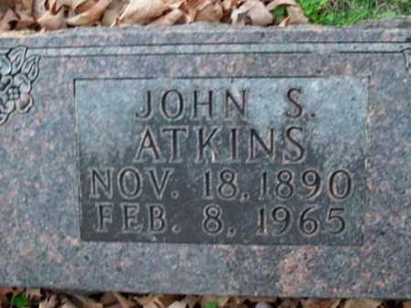 ATKINS, JOHN S. - Boone County, Arkansas | JOHN S. ATKINS - Arkansas Gravestone Photos